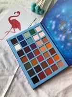 2018 nouveau beauté palette de fard à paupières 35 couleurs ciel oculaire ombre mate shimmer palette maquillage shadows livraison gratuite