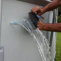 150x10 سنتيمتر سوبر قوية الألياف للماء الشريط وقف تسرب التسرب ختم إصلاح أداء الشريط الشريط فيكس لاصق النفس إصلاح أداة المنزل الصناعي
