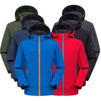 Autumn And Winter Outdoor Soft Shell Clothing Mens And Women...