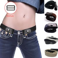 Buckle- Free Elastic Belt for Jean Pants Dresses No Buckle St...