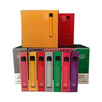 Üst Puf Çubuğu Artı Tek Kullanımlık Vapes Cihazı Pod Kiti 800 Puffbars 3.2ml Kartuşları Vape Boş Kalem 20 Flavs Vape Cart Ambalaj E Sigara.
