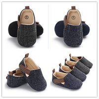PUDCOCO Summer Infant Toddler Baby Boy Crib Shoes Soft Sole ...
