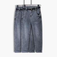 Jeans da donna COCOEPPS L-8XL Donne Summer Summer Large Size Harem Jean Spring Vintage Casual Stretch 5XL 6XL 7XL Plus Vita alta