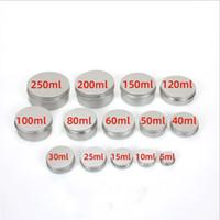 Aluminiumbehälter Gläser Kosmetische DAB-Werkzeuglagerungswachs-VAPE-Öle 5ml 10ml 30ml 50ml 60ml 100ml 200ml Metallkasten Dosen Trockenkrautflaschen