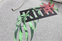 Moda-KITH In Bloom Klasik Logo Baskılı Erkek Casual Tasarımcı Kapüşonlular Kapşonlu Sweatshirt Erkek Kadın Hip Hop Kazak