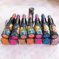 DHL 무료 새로운 PERLEES 립스틱 매트 방수 벨벳 섹시한 반짝이 슈퍼 금속 립 스틱 4.5 세대 7 색