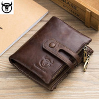 European and American fashion new leather men' s wallet ...