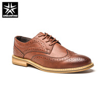 2019 New 2018 Luxury Leather Brogue Mens Flats Shoes Casual ...