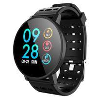 Günstige T3 Smart Uhr wasserdicht Aktivität Fitness Tracker HR Blutsauerstoffsättigung Blutdruck Uhr Männer Frauen Smartwatch
