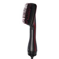 Dropship Salon Saç Bigudi Bir Adım Kurutma Hacmi 3 Isı Ayarı Az Saç Hasar Koleksiyonu Düz Saç Tarak Şekillendirici Aracı