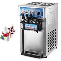 Plateau de table mini-machine à crème glacée molle prix usine vente chaude / crème glacée machine molle avec la livraison gratuite