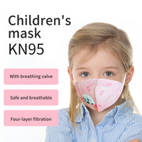 KN95 mask for children four layers of filtering with breathi...