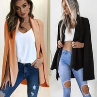 Kühle neue Art und Weise Graben beiläufige Frauen Lange Poncho Mantel Anzug Schal Plus-Umhang Cardigan Outwear Street