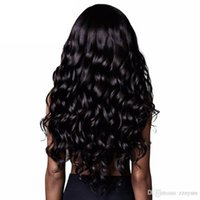 Brazilian hair body wave wig long curly hair Europe Africa h...