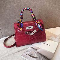2019 Crossbody Bags For Women Leather Luxury Handbag Famoso diseñador de la marca Bolsa Feminina Bolso de cocodrilo Señoras Sac Main