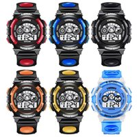 Sport Student Watch Kids Watches Boys Girls Clock Child LED ...