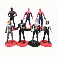 Action Figure Film SpiderMan Spielzeug Returning Heroes Spider Man Cartoon Speelgoed Action Figure Modell Puppe Geschenk Kuchen Dekoration