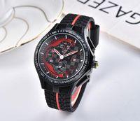 2019 Известный дизайн Мужчины Большие золотые часы серебро из нержавеющей качества Мужской Кварцевые часы Человек