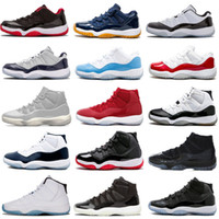 Concord High 45 11 XI 11s Chaussures de plein air PRM Heiress Gym Rouge Chicago Platinum Tint Space Jams Chaussures de plein air pour hommes