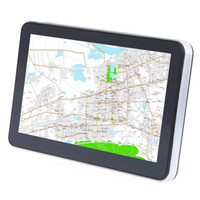 704 7 pulgadas camión coche Navegador GPS de navegación con mapas gratis Win CE 6.0 Pantalla táctil / E-libro / Video / Audio / Juego Player