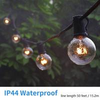 Holiday Outdoors Party LED-strängar 5W 50ft 100ft Globe glödlampa glödlampor Glödlampor