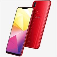 "Original vivo x21i A 4G LTE Mobiltelefon 6 GB RAM 64GB 128 GB ROM Helio P60 Octa Core Android 6.28 ""Am gelöster Vollbildschirm 24MP AR otg 3245mAh Face ID Fingerprint Smart Handy"