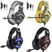 Onikuma K1pro Game headset tooling gaming headset Cuffie Luminescence Serious Bass Stereo mic per PC XBOX ONE PS4 cellulare Computer