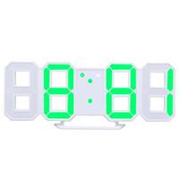 8 Şekilli Usb Dijital Masa Saatleri Duvar Saati Led Zaman Ekran Yaratıcı Saatler 24-Hour Ekran Alarm Erteleme Ev Dekorasyon