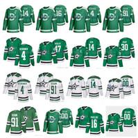2020 Winter Classic Dallas Stars Jersey 4 Miro Heiskanen 16 Joe Pavelski 91 Tyler Seguin Jamie Benn Alexander Radulov 30 Ben Bishop Hockey