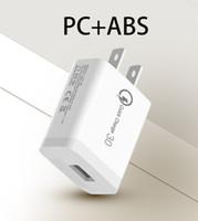 빠른 QC 3 0 아이폰 삼성 샤오 미의 새로운 휴대 전화 충전기를 충전 18W의 USB 충전기 급속 충전 3.0 QC3.0