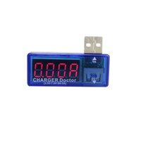 100PCS/lot 건전지 검사자 USB 충전기 이동할 수 있는 힘 Mete 검사자 건전지 부속품