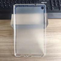 Pour Samsung Galaxy Tab A 8.0 2019 P205 P200 Tab A Plus 2019 mat brillant doux Pudding TPU Case Cover