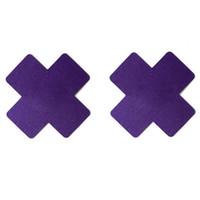 SEXY Cross ToChot Stickers X Forme Jetable auto-adhésive Pasties Couverture de mamelon Invisible Respirant Multicolore choix