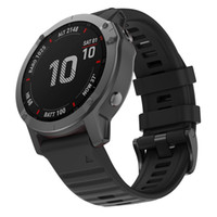 22mm Uhr-Silikon-Bügel für Garmin Fenix 6 / 6pro Fenix 5 / 5Plus Sport Gummibänder Armband