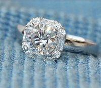 2020 neue Art-Fabrik-Großhandelsrunde Diamant-Ring-Frau Nachtclub Königin Partei Verlobungsring für Geschenk
