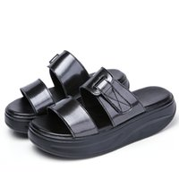 2140G sandals summer casual new sandals women' s leather...