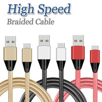 Nylon Braided Micro USB Cable 1m High Speed 2A Micro USB Fas...