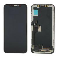 Yeni Varış Iphone X Için Dokunmatik Ekran Digitizer LCD Ekran Meclisi 5.8 inç Ekran Değiştirme 5.8 inç 100% Test DHL Freeshipping