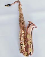 المهنية ياناجيساوا T-902 أداة أفضل نوعية الساكسفون موسيقى دعم الفوسفور البرونزية مفتاح الذهب تينور ساكس مع حالة