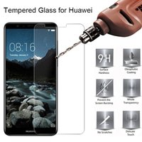 500 stücke Handy-Bildschirmschutz-gehärtetes Glas für Huawei nova 2i 2i 3e 3i 4e 5i 6 6SE 7I 5TPRO Lite dhl frei