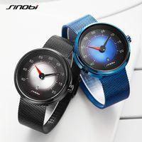 CWP 2021 Sinobi Horloge Auto Dashboard Creatieve Horloges Mode Speed Sport Drive Kalender Mannen Roestvrijstalen Kwarts Horloges