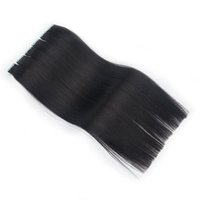Tape na extensão do cabelo 100% Pele Remy cabelo humano trama extensão do cabelo Natural Preto Brown Loira 100g / 40piece 10 cores disponíveis barato
