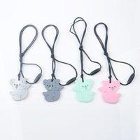 Mini Chew Koala Necklace Silicone Baby Teethers Chewelry BPA...