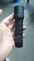 Acciaio inossidabile della clip del CREE LED Torcia lampada tattica 16340 lampada per Surefire G2