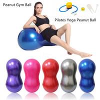 Pilates Yoga Bal Anti-Burst Forma PVC arachidi Home Fitness Exercise attrezzature sportive di ginnastica Pilates sfera di yoga con pompa