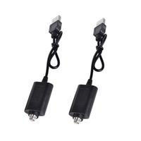 EGO 510 eスマートUSBワイヤレス充電器ショートロングケーブル510スレッドEGO T evodバッテリー蒸発器o-Pen Vape USB ECIG充電器
