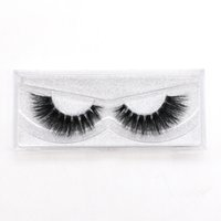AH01 New Fashion Low Price Natural Individual False Eyelashes 3D Mink Eyelashes Eyelash Extension Supplies