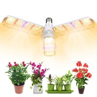 414 LED Coltiviamo lampadina 150W pieghevole Daylight spettro completo coltiva le luci per le piante d'appartamento luci della pianta verdure in serra