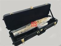 Top Nuovi YANAGISAWA S-9930 B flat sassofono soprano Silvering e Gold diritte strumenti musicali Sax chiave Livello professionale