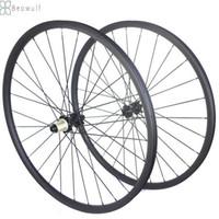 """Super Light 296 roues en carbone roue de vélo de montagne VTT 29 pouces RIM de carbone 29 """"WheelSet léger 30mm xc am"""